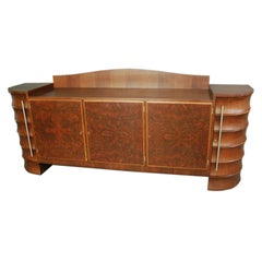Fine French Art Deco Sideboard by Rene Prou