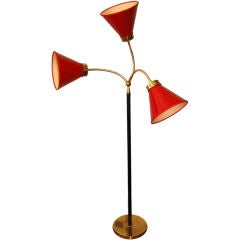 3 arm adjustable lamp by Josef Frank