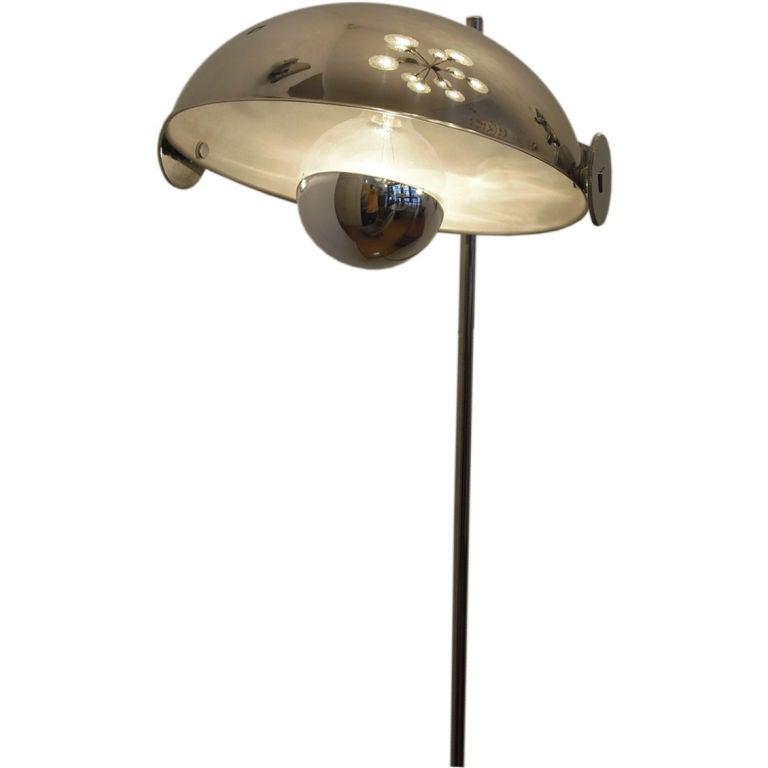 Reggiani 197039s chrome floor lamp at 1stdibs for Reggiani chrome floor lamp