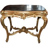 19th c. Giltwood Table