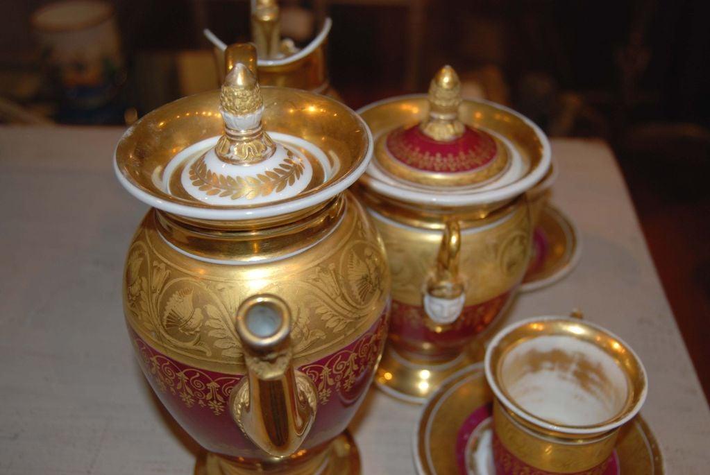 Paris Porcelain Tea Set 3