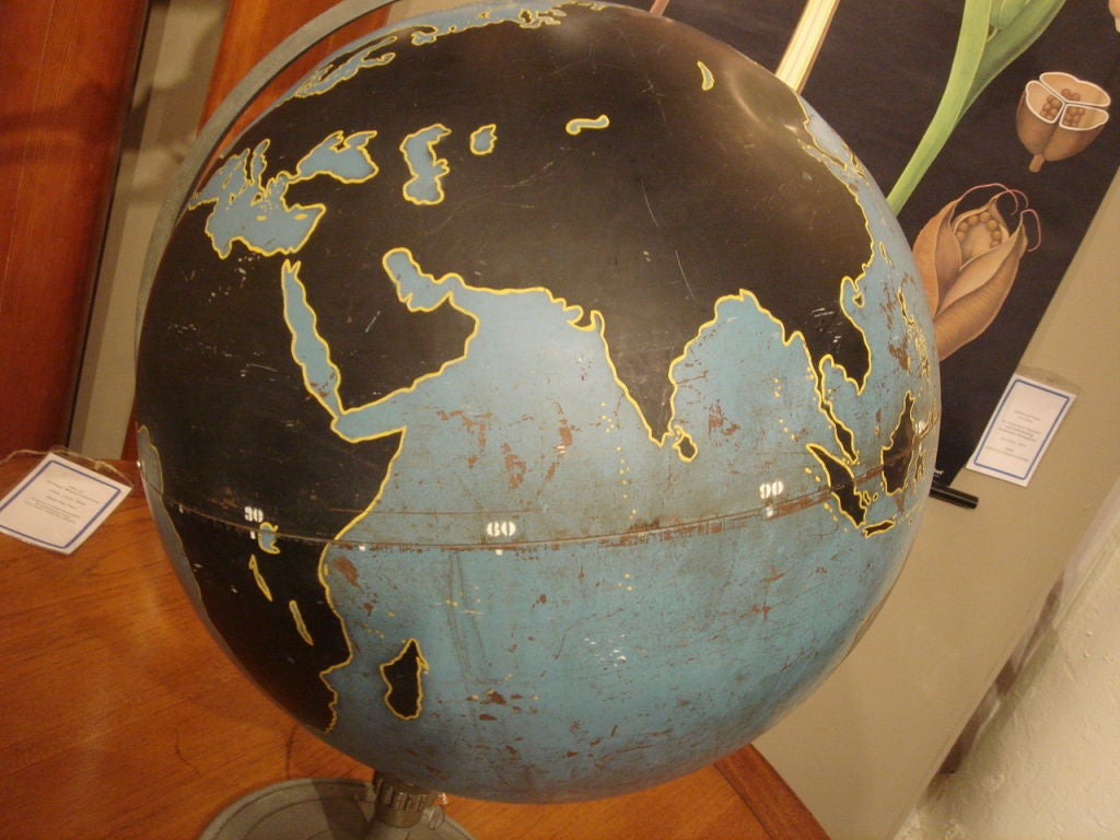Vintage Military Globe by Denoyer Geppart image 4