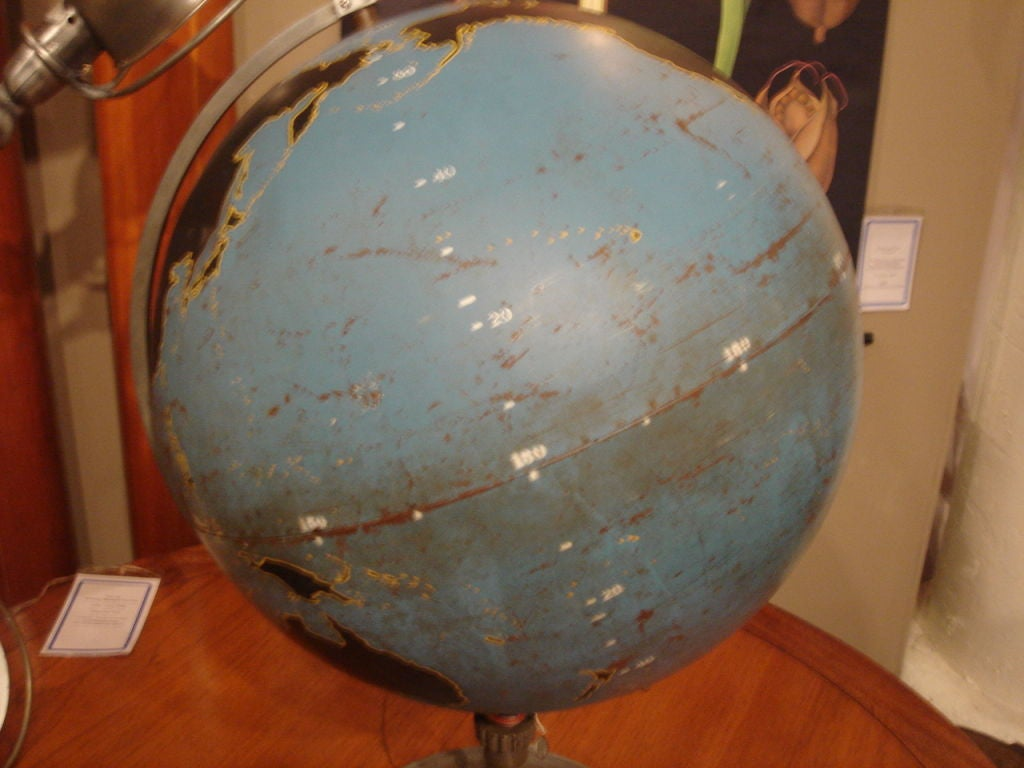 Vintage Military Globe by Denoyer Geppart image 5