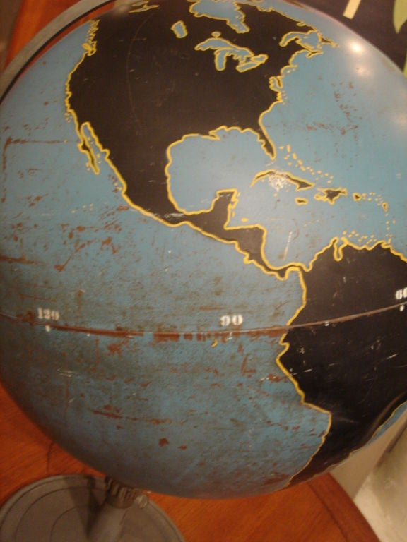 Vintage Military Globe by Denoyer Geppart image 6
