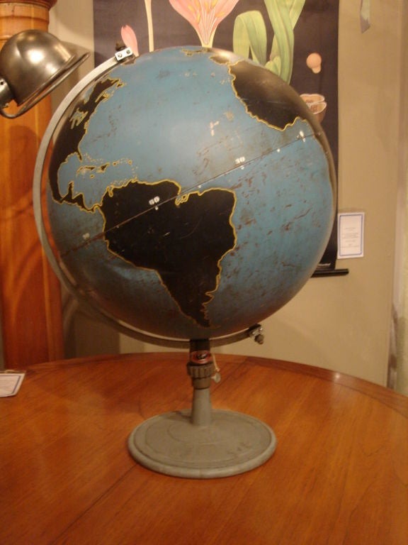 Vintage Military Globe by Denoyer Geppart image 8