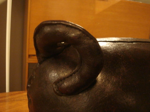 Vintage Pig Footstool by Omersa for Amercrombie and Fitch at 1stdibs