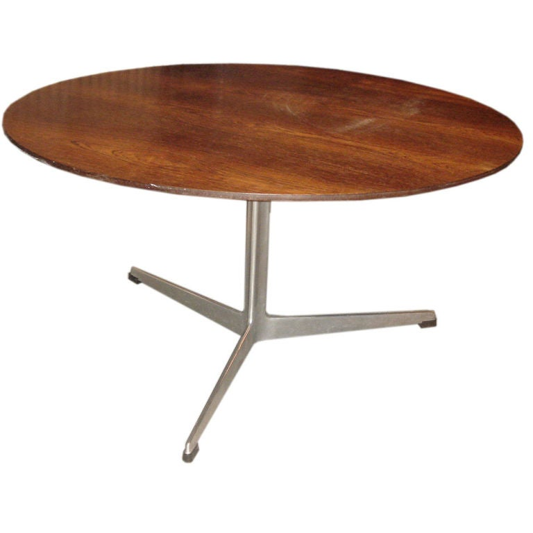 Vintage Rosewood Coffee Table By Arne Jacobsen For Fritz