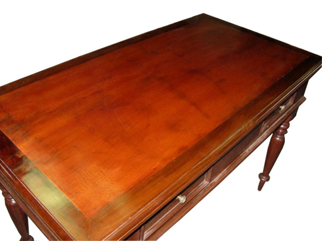 Mahogany Front Hall Table 6