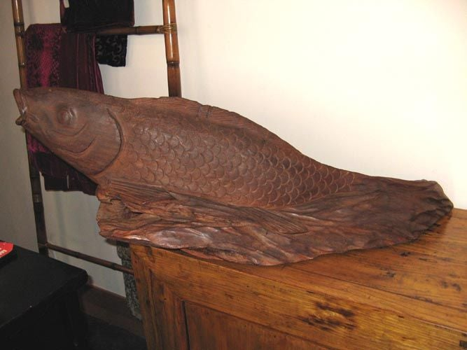Japanese koi fish at 1stdibs for Koi furniture