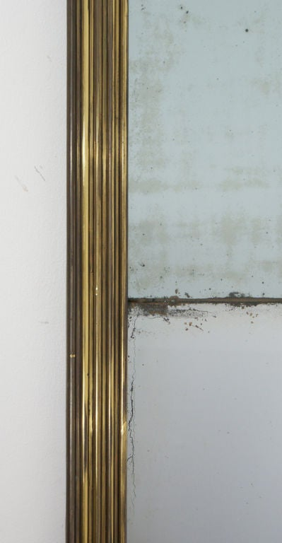 Antique French Bistro Mirror At 1stdibs