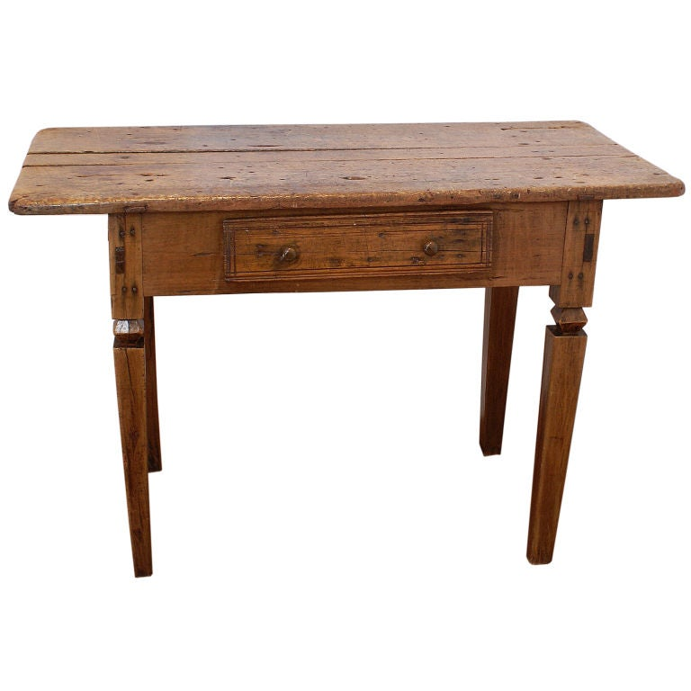 Spanish colonial table at 1stdibs for Table in spanish