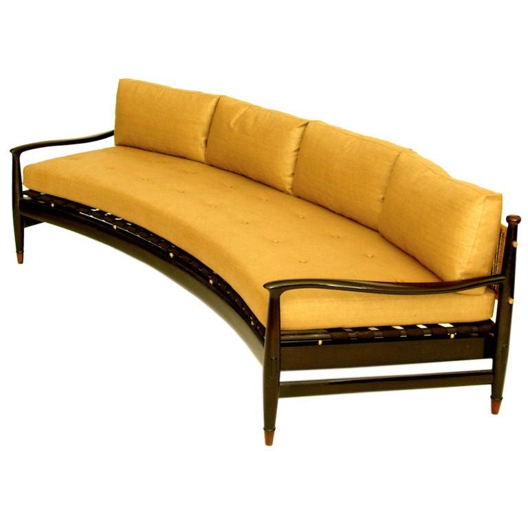 kyle de mexico modernist sofa at 1stdibs. Black Bedroom Furniture Sets. Home Design Ideas
