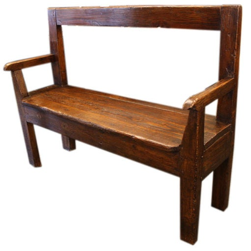 Antique French Fireside Seat At 1stdibs