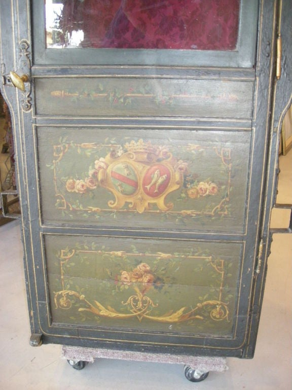 18th Century and Earlier 18th Century Louis XVI Period French Sedan Chair For Sale