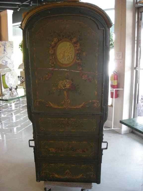 Brass 18th Century Louis XVI Period French Sedan Chair For Sale
