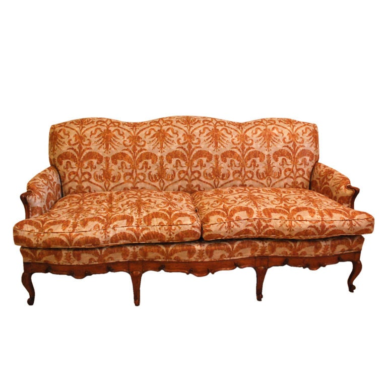 Country French Louis Xv Style Sofa At 1stdibs