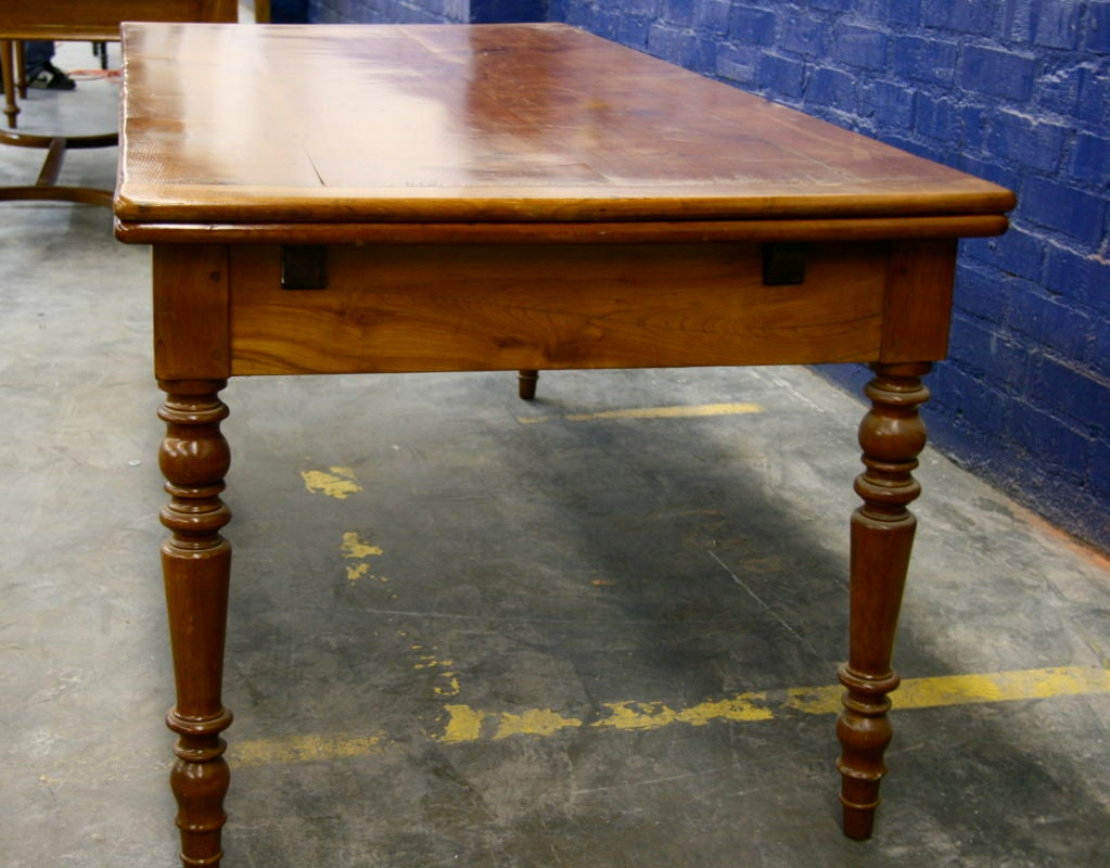 italian rustic cherry dining table for sale at 1stdibs