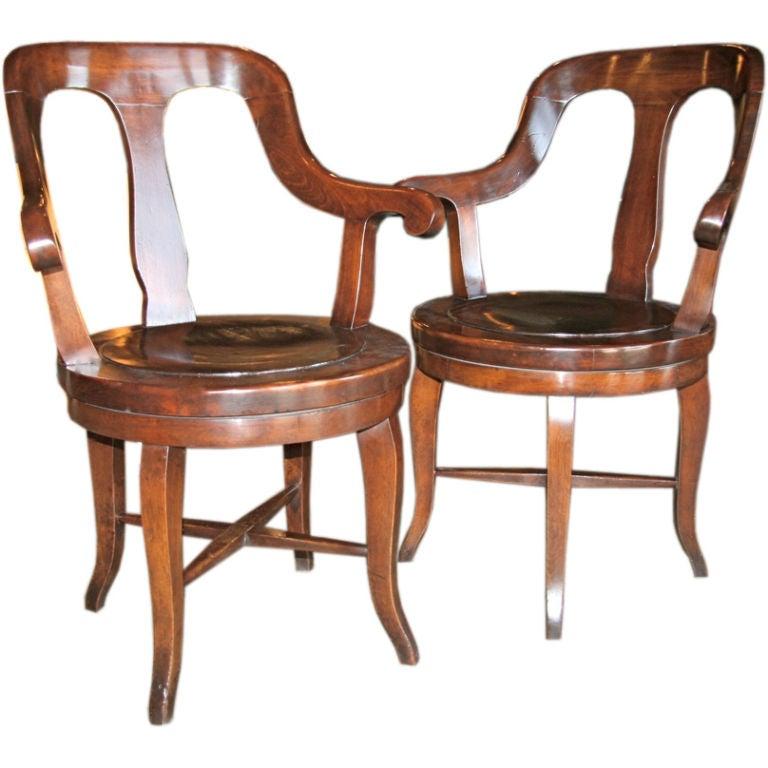 Barber Shop Furniture : Italian Barber Shop Chairs at 1stdibs