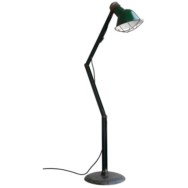 Xxx 73whitejpg for Led articulated floor lamp