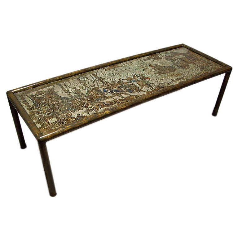 Charmant Exceptional Philip And Kelvin LaVerne Coffee Table For Sale