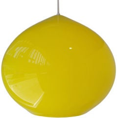 Gino Vistosi - Large Hanging Glass Pendant Light