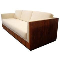 Milo Baughman for Thayer Coggin - Rosewood Cased Sofa