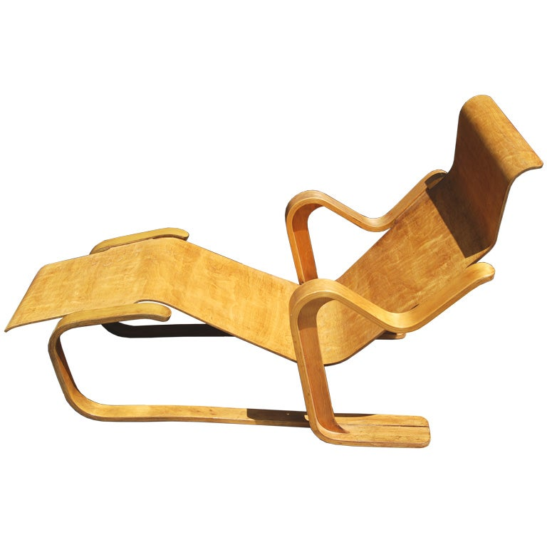 Marcel breuer isokon chaise at 1stdibs for Breuer chaise lounge
