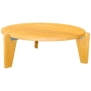 Jean prouv africa low table at 1stdibs - Table basse jean prouve ...