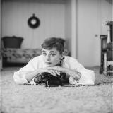 Editioned Audrey Hepburn Portrait by Mark Shaw #17, L.A. 1953