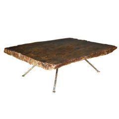 One Wide Plank Coffee Table