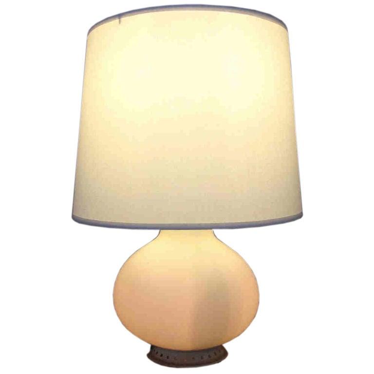 max ingrand lamp for fontana arte at 1stdibs. Black Bedroom Furniture Sets. Home Design Ideas