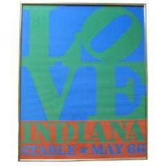 First Edition Robert Indiana LOVE Silkscreen Poster