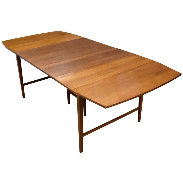 Paul McCobb Dropleaf Dining Table At 1stdibs