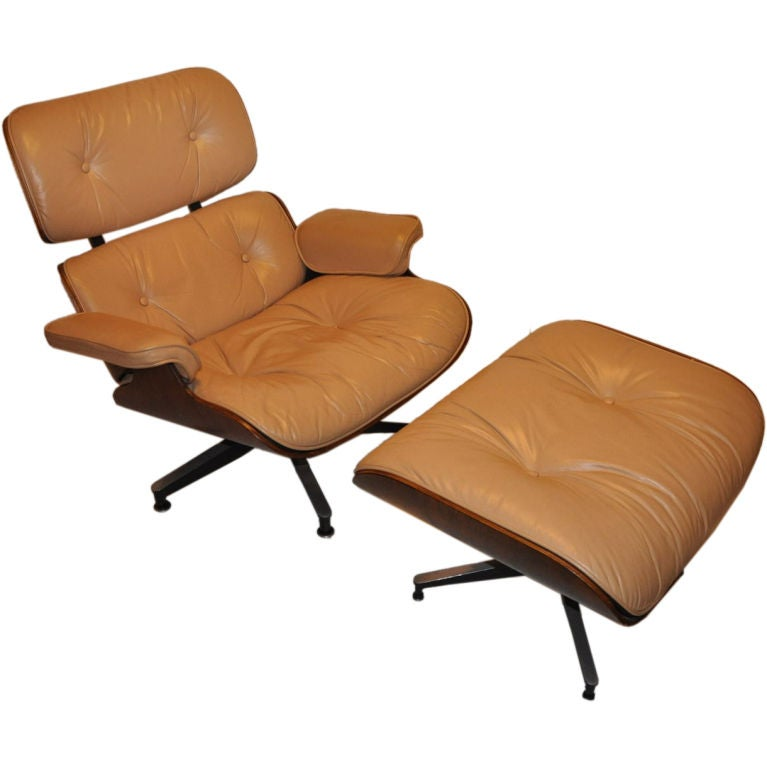 early rosewood eames lounge chair and ottoman at 1stdibs fighting chairs for boats fighting chair bucket harness