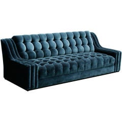 James Mont Tufted Sofa