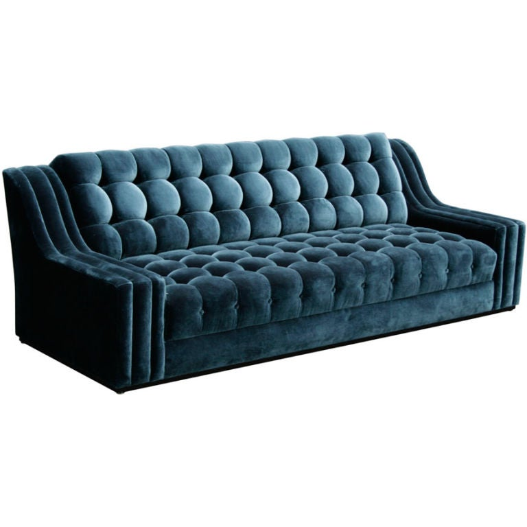 This James Mont Tufted Sofa is no longer available.