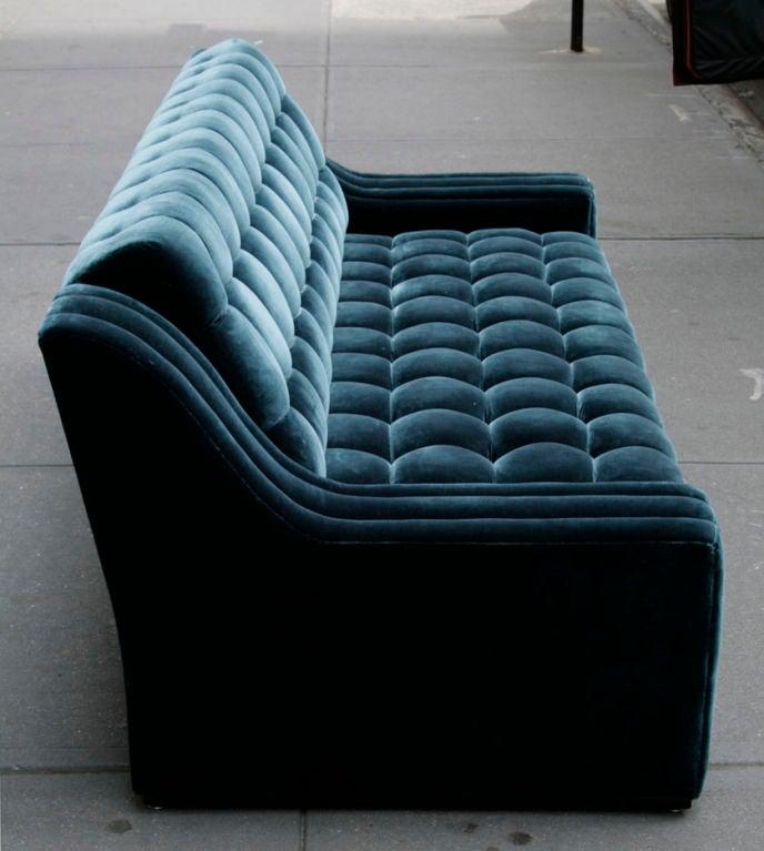 James Mont Tufted Sofa At 1stdibs