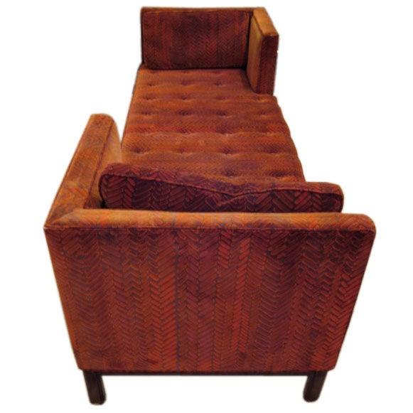 Edward Wormley For Dunbar Tete A Tete Sofa At 1stdibs