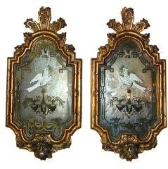 Pair Venetian Mirrors