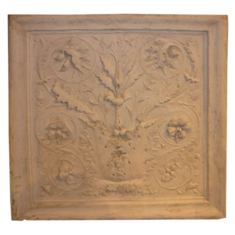 Acanthus leaf decorative relief at 1stdibs for Acanthus decoration