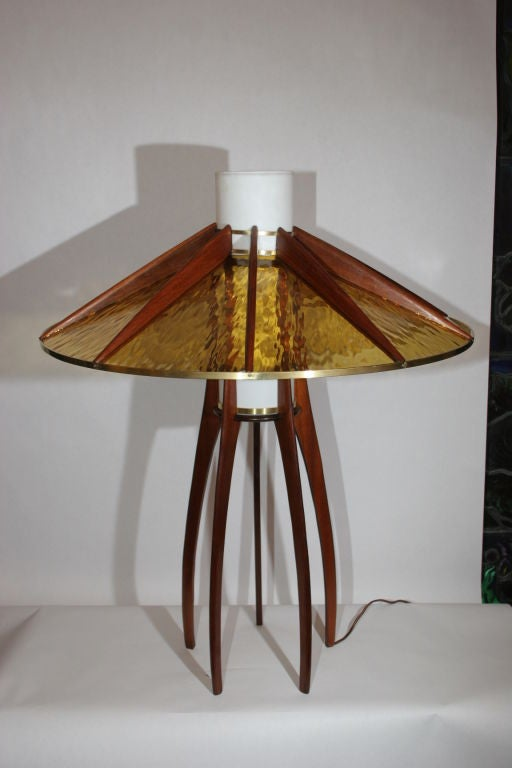 architectural arts and crafts table lamp for sale at 1stdibs. Black Bedroom Furniture Sets. Home Design Ideas
