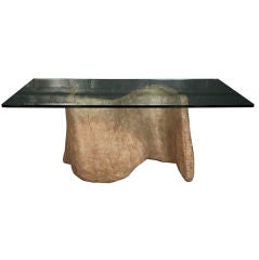 Faux Cast Stone Miro Dining Table by Silas Seandel