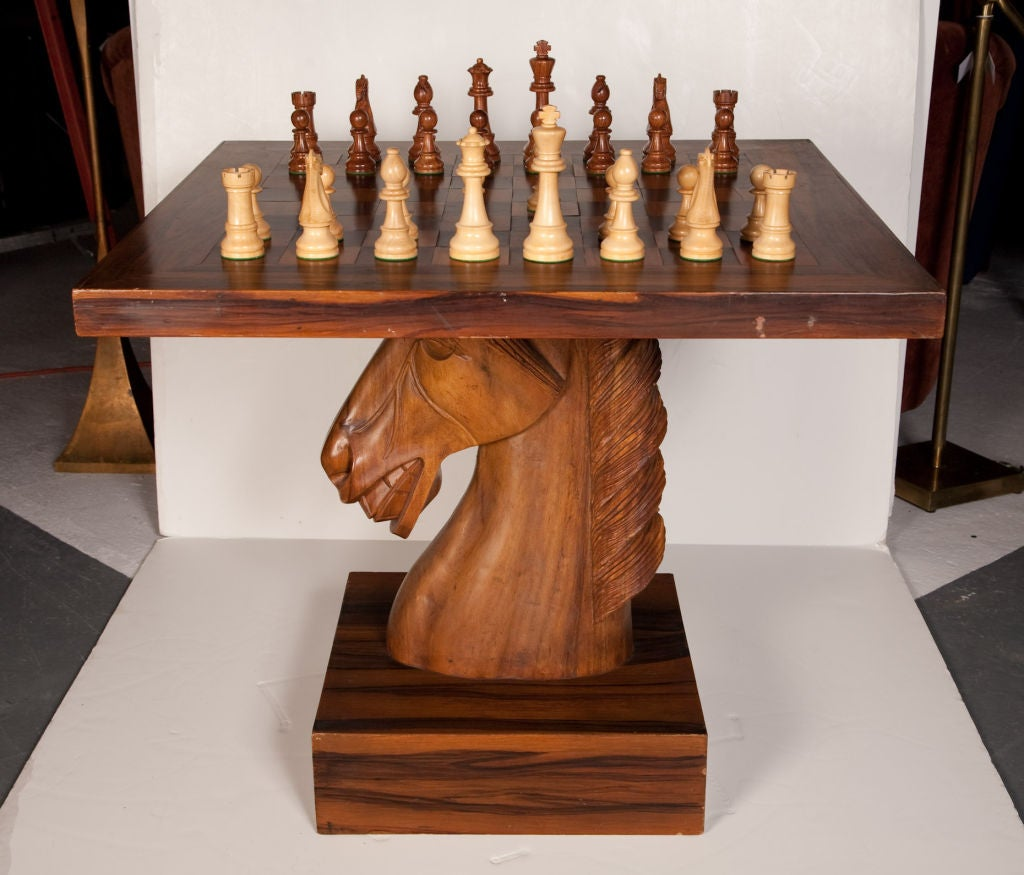 American Fantasy Knight Chess Table at 1stdibs : dual93200918 from www.1stdibs.com size 1024 x 875 jpeg 100kB