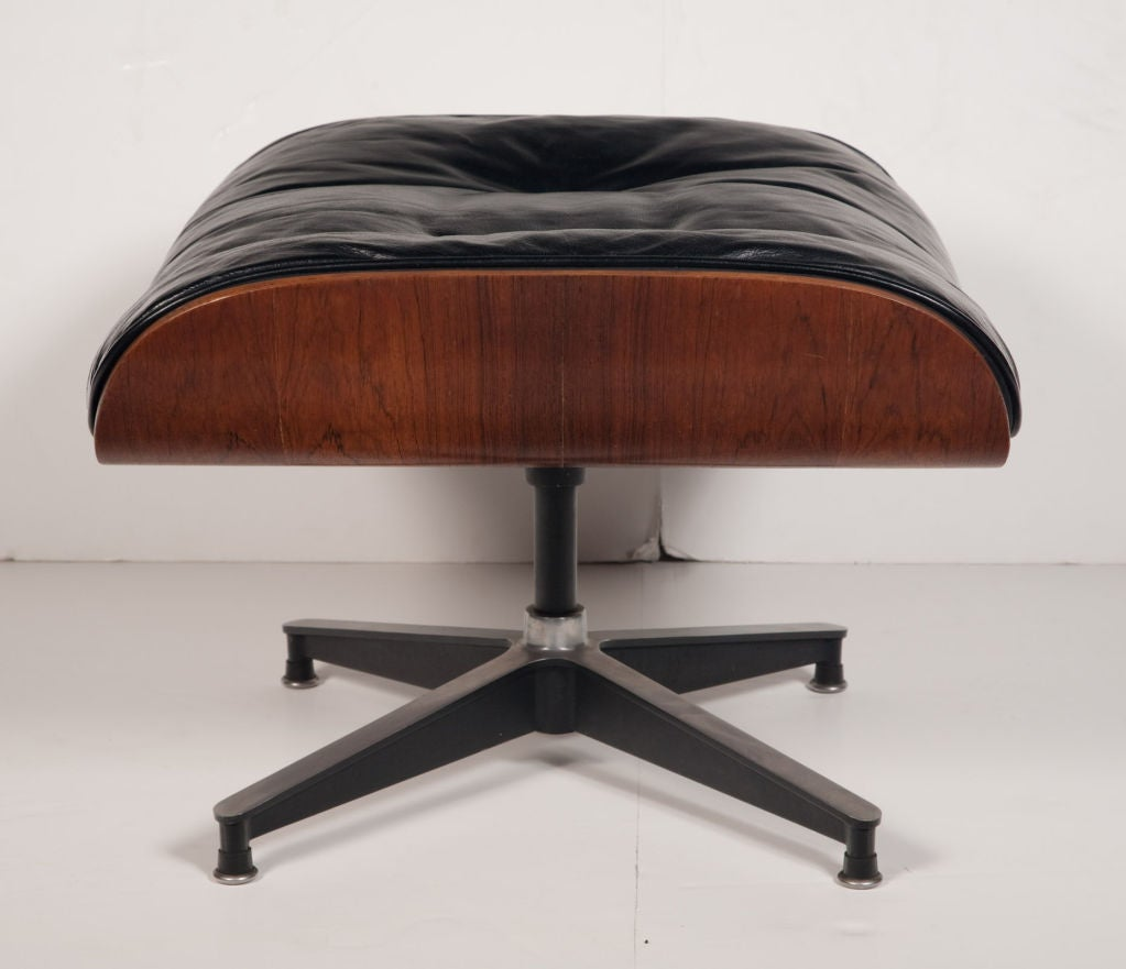 Exceptional Chair and Ottoman by Charles Eames for Herman Miller 1