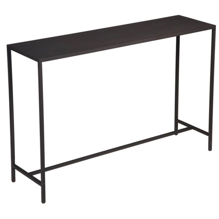 american minimalist steel entry console at 1stdibs