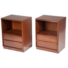 Pair of Mid-Century Nightstands by T.H. Robsjohn-Gibbings