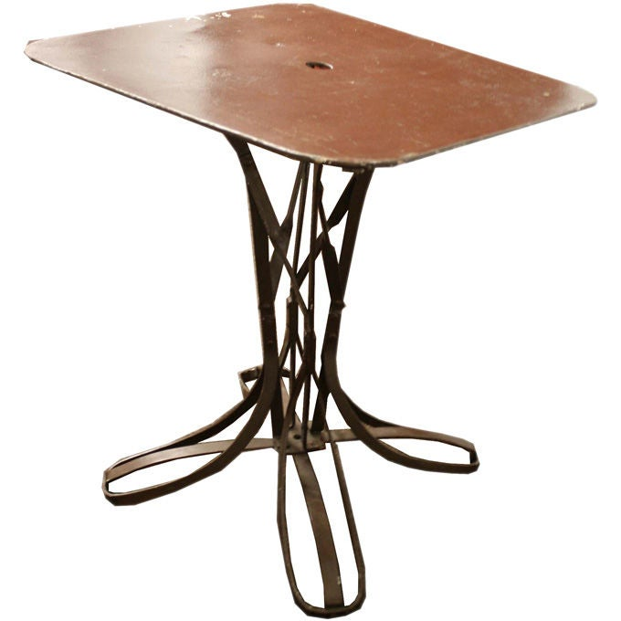 1940 39 s french cafe table at 1stdibs