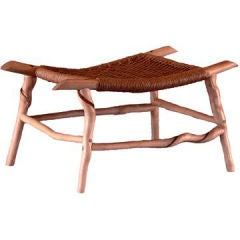 Sassafras Stick Foot Stool by Artist and Craftsman, David N. Ebner