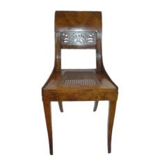 Elegant Austrian Biedermier Side Chair