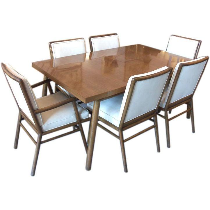 Robbsjohn Gibbings Dining Set with 6 Chairs by Widdicomb  : gibbingsset1 from www.1stdibs.com size 722 x 722 jpeg 47kB